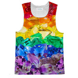 Crystalz Pride Tank Top-kite.ly-| All-Over-Print Everywhere - Designed to Make You Smile