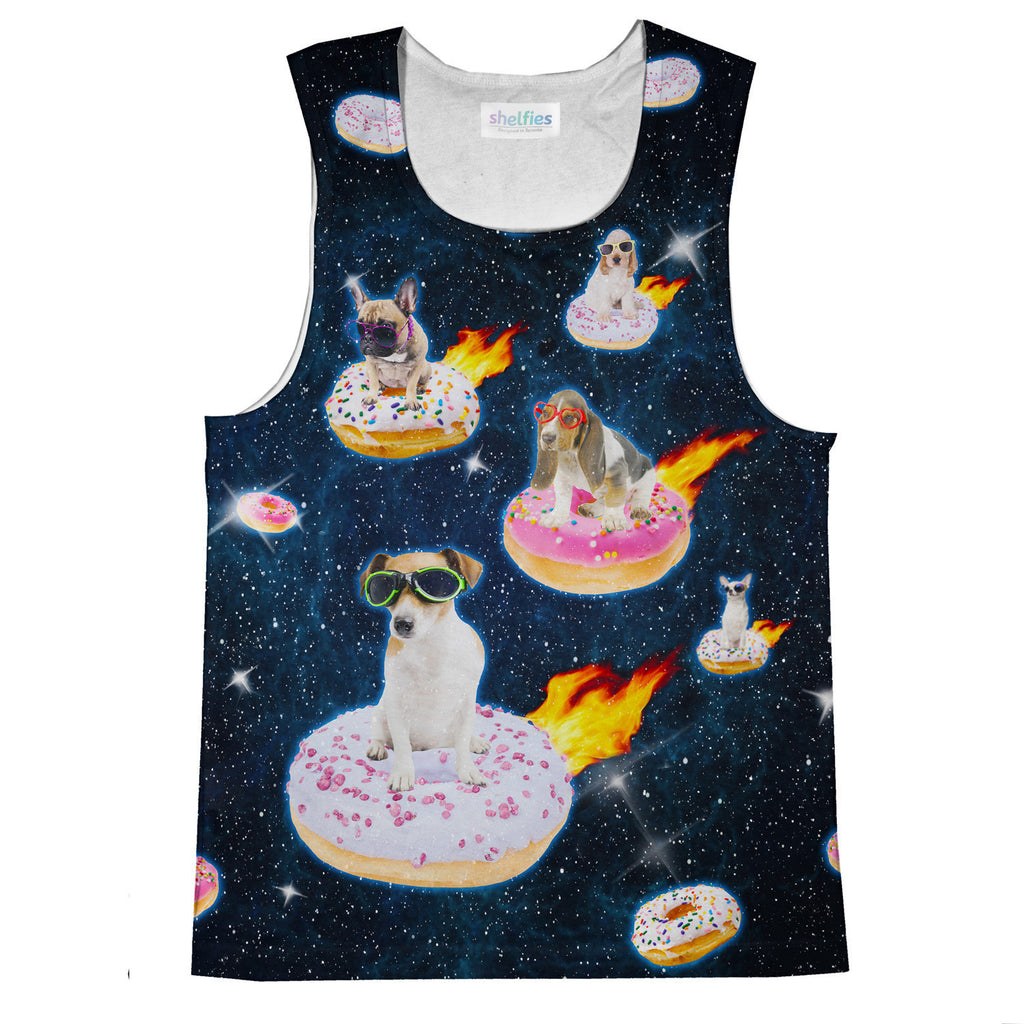 Tank Tops - Dogs N Donuts Tank Top