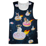Dogs n Donuts Tank Top-kite.ly-| All-Over-Print Everywhere - Designed to Make You Smile