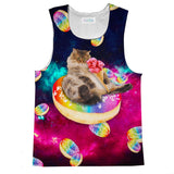 Donut Cat-Astrophy Tank Top-kite.ly-| All-Over-Print Everywhere - Designed to Make You Smile