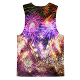 Fireworks Tank Top-kite.ly-| All-Over-Print Everywhere - Designed to Make You Smile