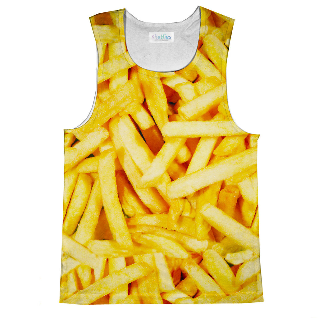 French Fries Invasion Tank Top-kite.ly-| All-Over-Print Everywhere - Designed to Make You Smile
