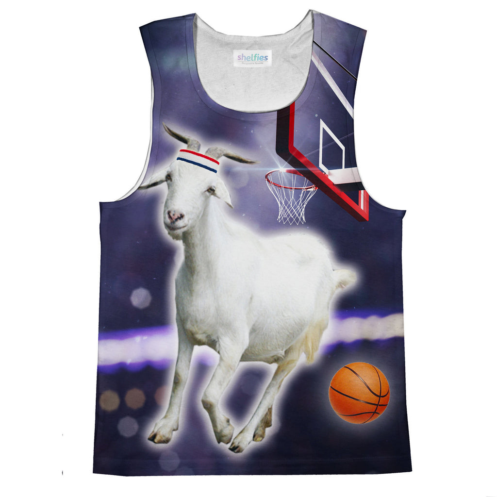 GOAT Tank Top-kite.ly-| All-Over-Print Everywhere - Designed to Make You Smile