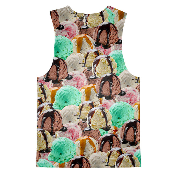 Tank Tops - Ice Cream Invasion Tank Top