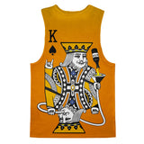 Kingsday Tank Top-kite.ly-| All-Over-Print Everywhere - Designed to Make You Smile