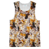 Tank Tops - Kitty Invasion Tank Top