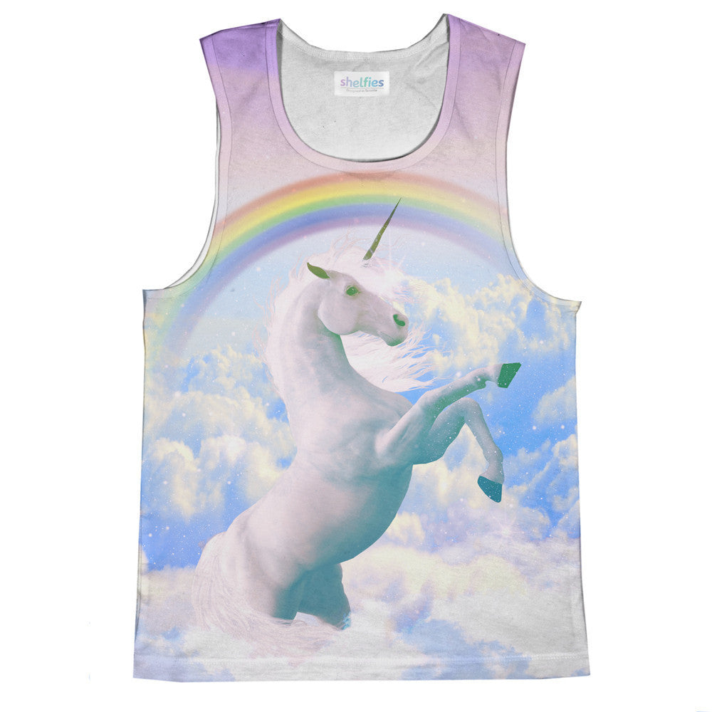 Magical Unicorn Tank Top-kite.ly-| All-Over-Print Everywhere - Designed to Make You Smile