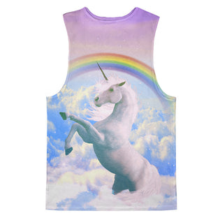 9110ee2346265a Magical Unicorn Tank Top - Shelfies