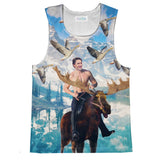 Moosin Trudeau Tank Top-kite.ly-| All-Over-Print Everywhere - Designed to Make You Smile