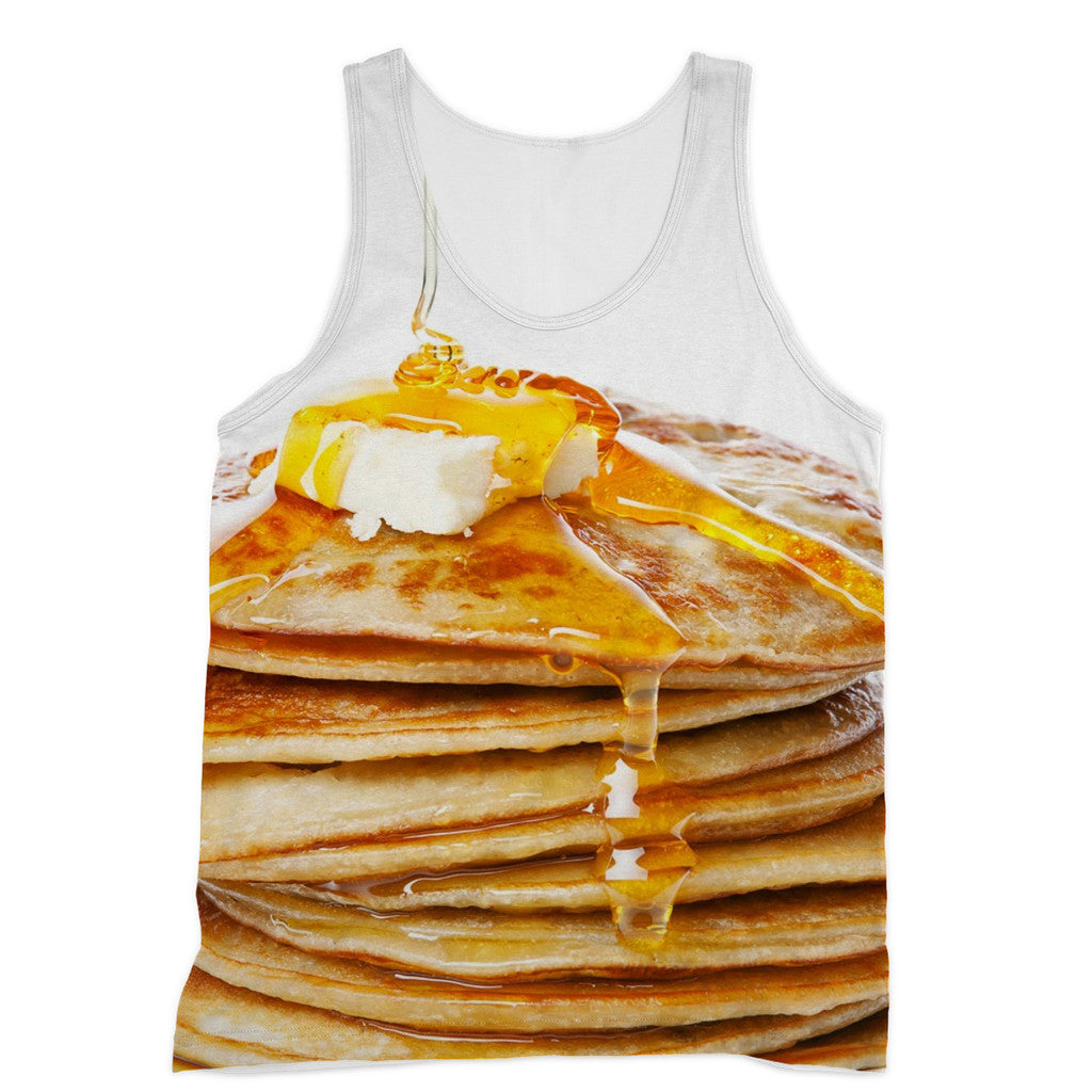 Pancakes Tank Top-kite.ly-XS-| All-Over-Print Everywhere - Designed to Make You Smile