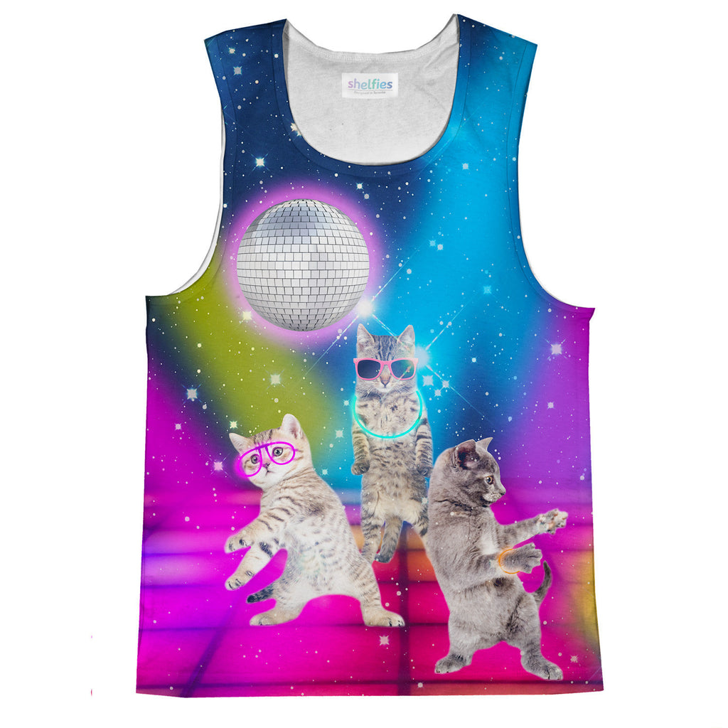 Party Cats Tank Top-kite.ly-| All-Over-Print Everywhere - Designed to Make You Smile