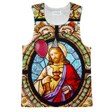 Party God Tank Top-kite.ly-| All-Over-Print Everywhere - Designed to Make You Smile