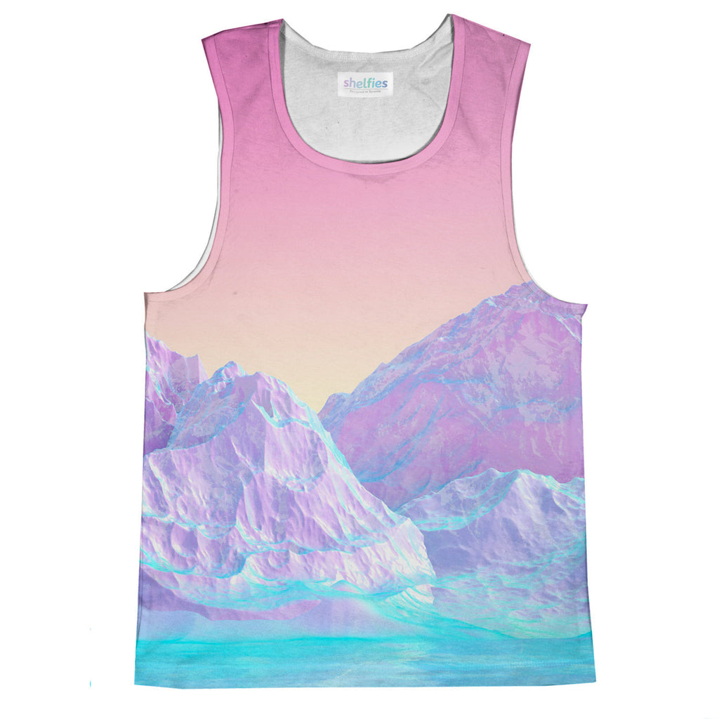 Tank Tops - Pastel Mountains Tank Top