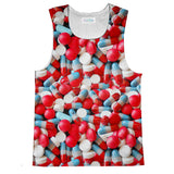 Pills Invasion Tank Top-kite.ly-| All-Over-Print Everywhere - Designed to Make You Smile