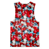 Tank Tops - Pills Invasion Tank Top