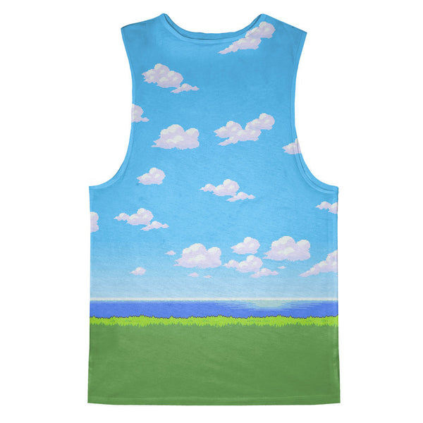 Pixel Days Tank Top-kite.ly-| All-Over-Print Everywhere - Designed to Make You Smile