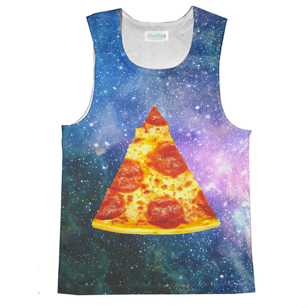 Pizza Galaxy Tank Top-kite.ly-| All-Over-Print Everywhere - Designed to Make You Smile