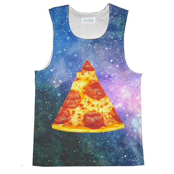 Tank Tops - Pizza Galaxy Tank Top