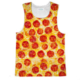 Pizza Invasion Tank Top-kite.ly-| All-Over-Print Everywhere - Designed to Make You Smile