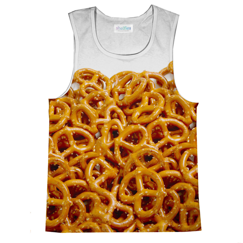 Pretzel Invasion Tank Top-kite.ly-| All-Over-Print Everywhere - Designed to Make You Smile