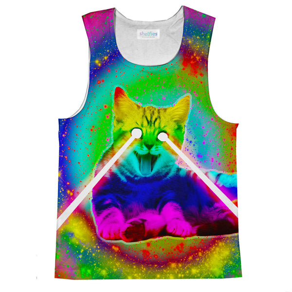 Psycho Kitty Tank Top-kite.ly-| All-Over-Print Everywhere - Designed to Make You Smile