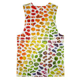 Rainbow Fruit Tank Top-kite.ly-| All-Over-Print Everywhere - Designed to Make You Smile