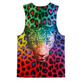 Rainbow Leopard Tank Top-kite.ly-| All-Over-Print Everywhere - Designed to Make You Smile