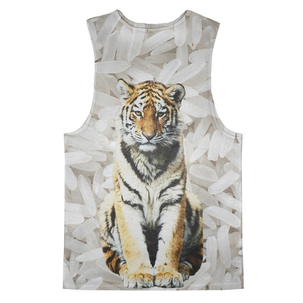 Tank Tops - Rice Tiger Tank Top