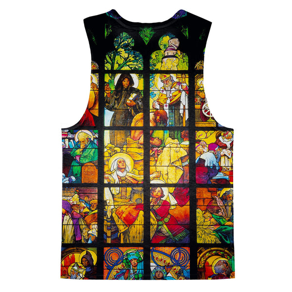 Tank Tops - Stained Glass Tank Top