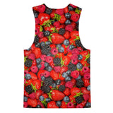 Summer Berries Invasion Loose Tank-kite.ly-| All-Over-Print Everywhere - Designed to Make You Smile