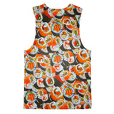 Sushi Invasion Tank Top-kite.ly-| All-Over-Print Everywhere - Designed to Make You Smile