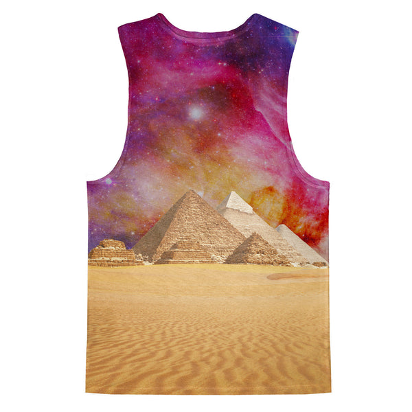 The Great Pyramid of Pizza Tank Top-kite.ly-| All-Over-Print Everywhere - Designed to Make You Smile