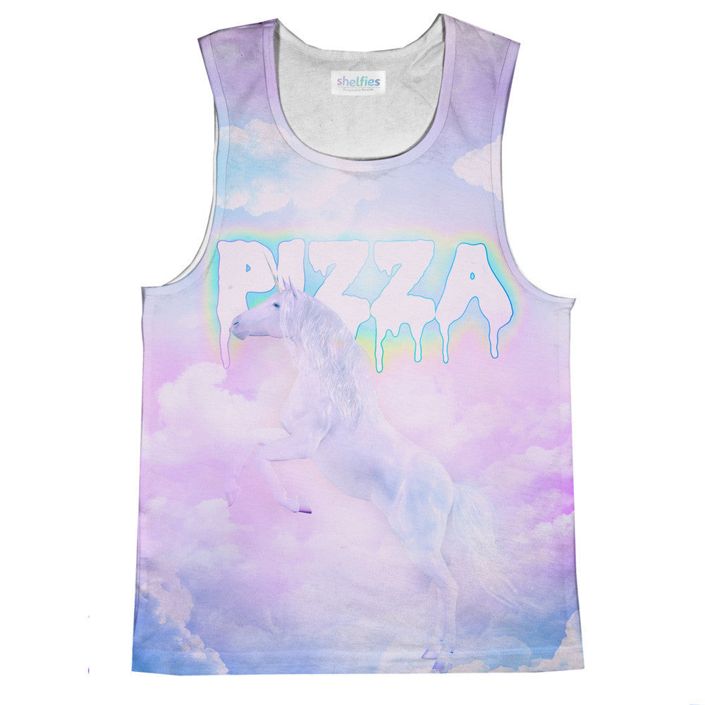 Unicorn Pizza Tank Top-kite.ly-| All-Over-Print Everywhere - Designed to Make You Smile