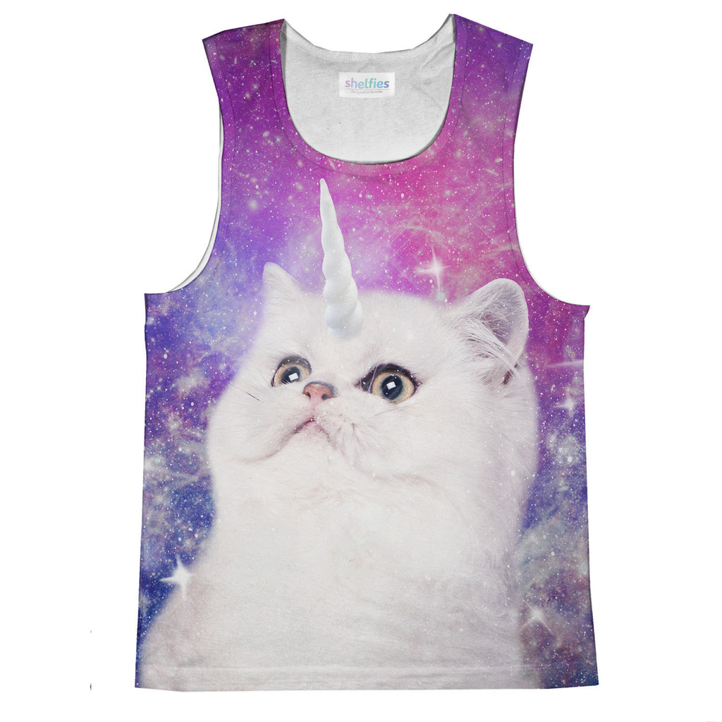 Unikitty Tank Top-kite.ly-| All-Over-Print Everywhere - Designed to Make You Smile