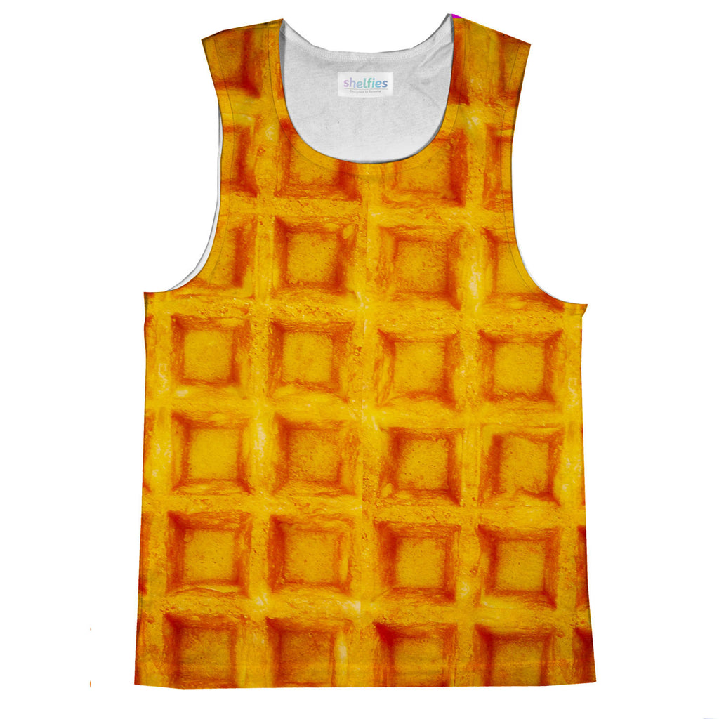 Tank Tops - Waffle Invasion Tank Top