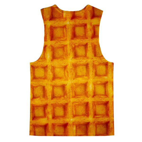 Waffle Invasion Tank Top-kite.ly-| All-Over-Print Everywhere - Designed to Make You Smile