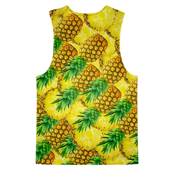 War of the Pineapple Tank Top-kite.ly-| All-Over-Print Everywhere - Designed to Make You Smile