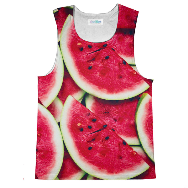 Watermelon Invasion Tank Top-kite.ly-| All-Over-Print Everywhere - Designed to Make You Smile