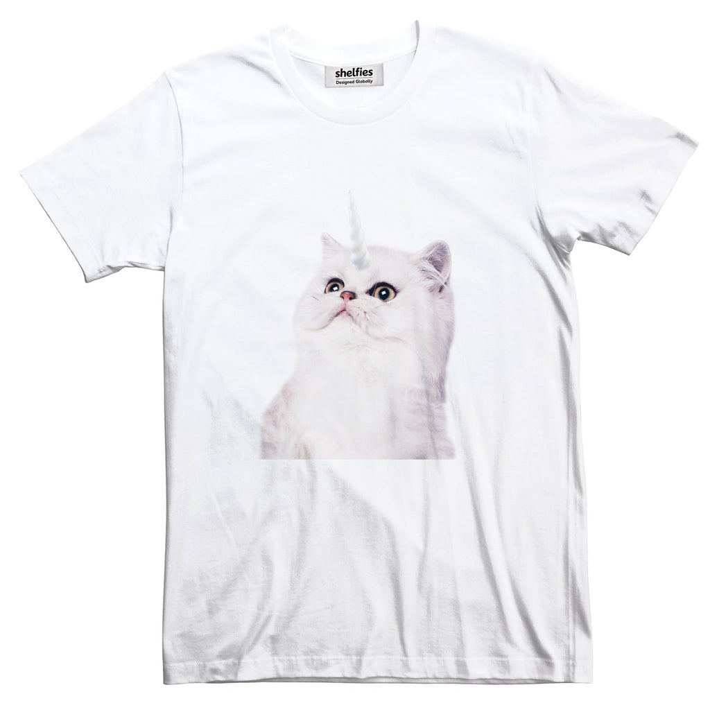 Unikitty Basic T-Shirt-Printify-White-S-| All-Over-Print Everywhere - Designed to Make You Smile