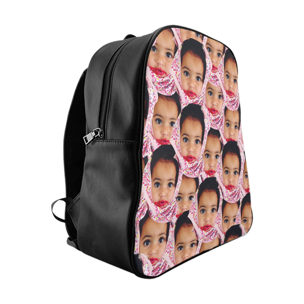 Your Face Custom Backpack-Printify-Large-| All-Over-Print Everywhere - Designed to Make You Smile