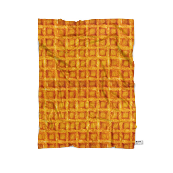 Waffle Invasion Blanket-Gooten-Cuddle-| All-Over-Print Everywhere - Designed to Make You Smile