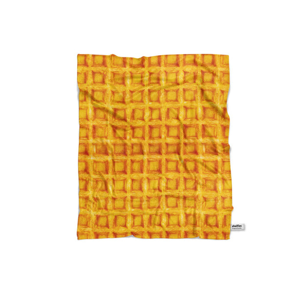 Waffle Invasion Blanket-Gooten-Regular-| All-Over-Print Everywhere - Designed to Make You Smile