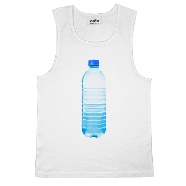 Waterbottle Basic Tank Top-Printify-White-S-| All-Over-Print Everywhere - Designed to Make You Smile