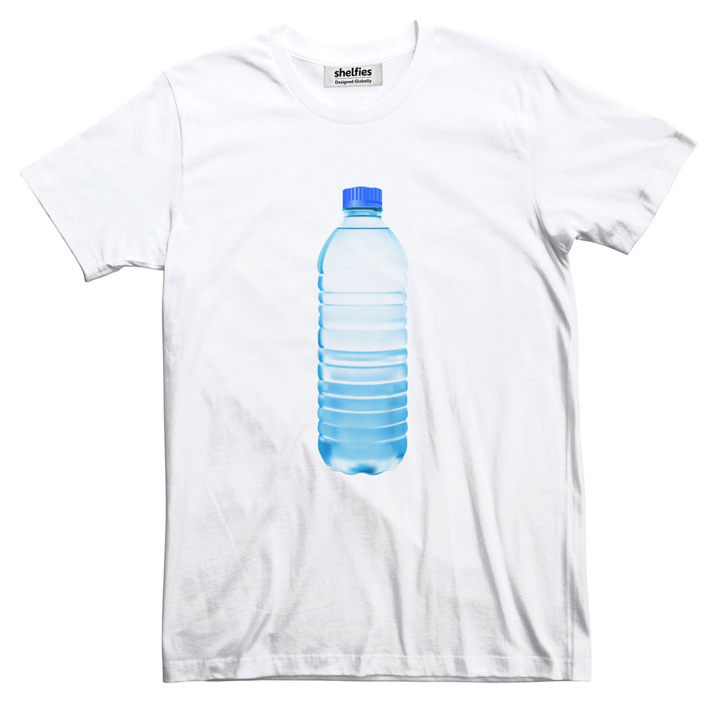 Waterbottle Basic T-Shirt-Printify-White-S-| All-Over-Print Everywhere - Designed to Make You Smile