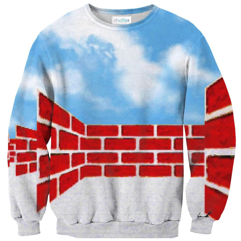 Windows 95 Sweater-Shelfies-| All-Over-Print Everywhere - Designed to Make You Smile