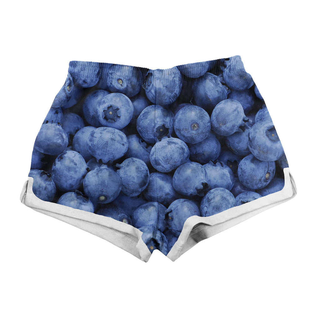 Women's Shorts - Blueberry Women's Shorts