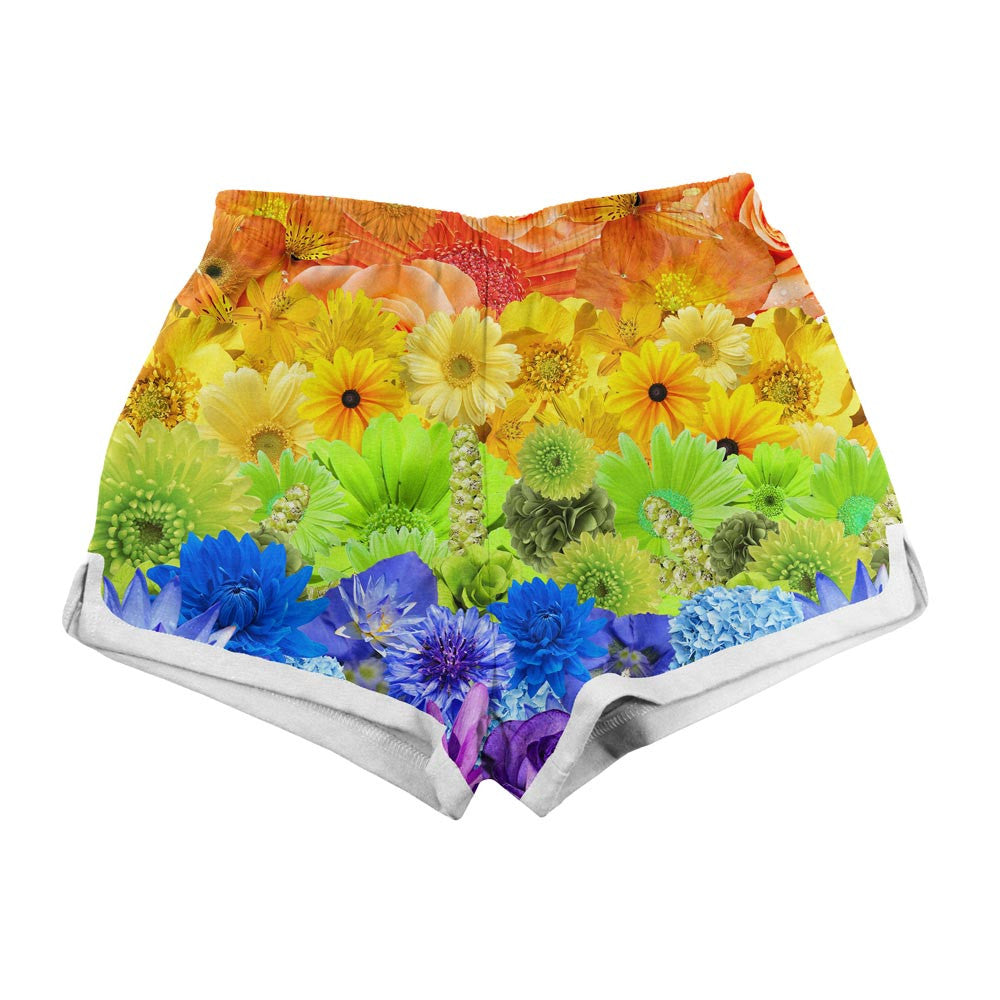 Women's Shorts - Pride Flowers Women's Shorts