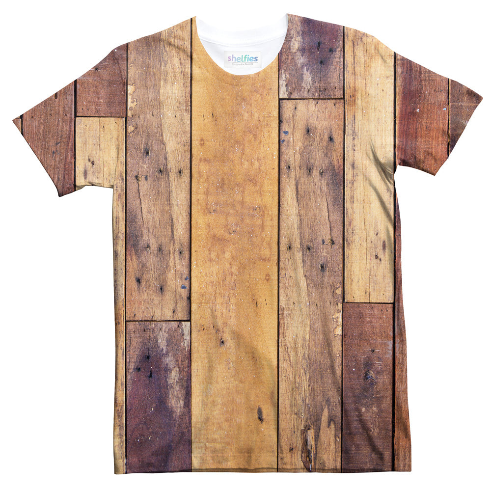 Wood Decks T-Shirt-Subliminator-| All-Over-Print Everywhere - Designed to Make You Smile