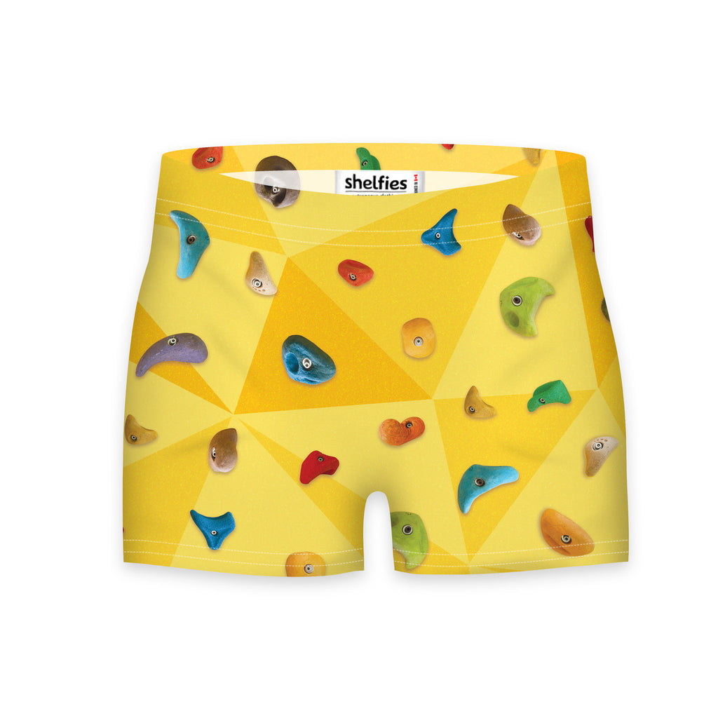 Workout Shorts - Rock Wall Workout Shorts