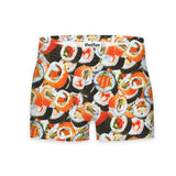 Sushi Invasion Workout Shorts-Shelfies-| All-Over-Print Everywhere - Designed to Make You Smile